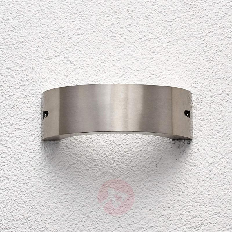 Stainless steel LED outdoor wall light Marisa - stainless-steel-outdoor-wall-lights
