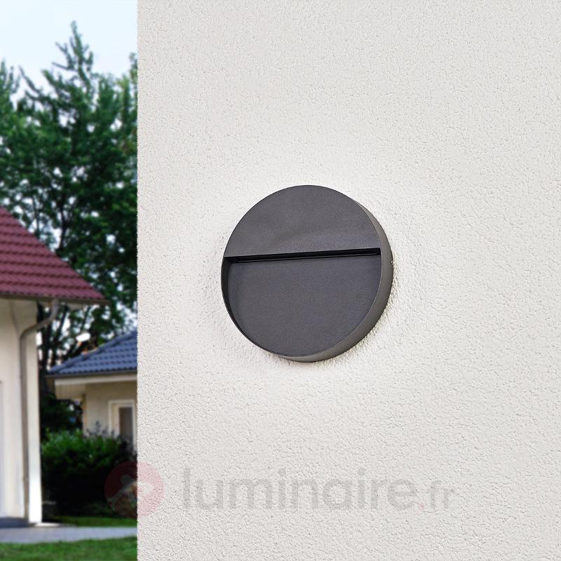 Applique d'extérieur LED ronde Karina - Appliques d'extérieur LED