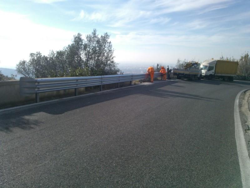 Barriera di sicurezza stradale