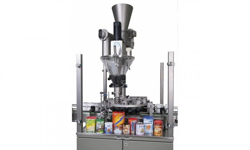 Filling and Closing Machine OPTIMA FC2 - Filling and Closing Machine OPTIMA FC2: Dry products in solid containers