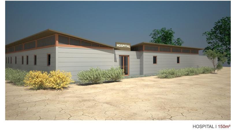 Dispensaires et hôpitaux de brousse - Constructions activités collectives