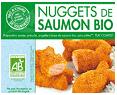 Nuggets de saumon surgelés - Saumon biologique et surgelé