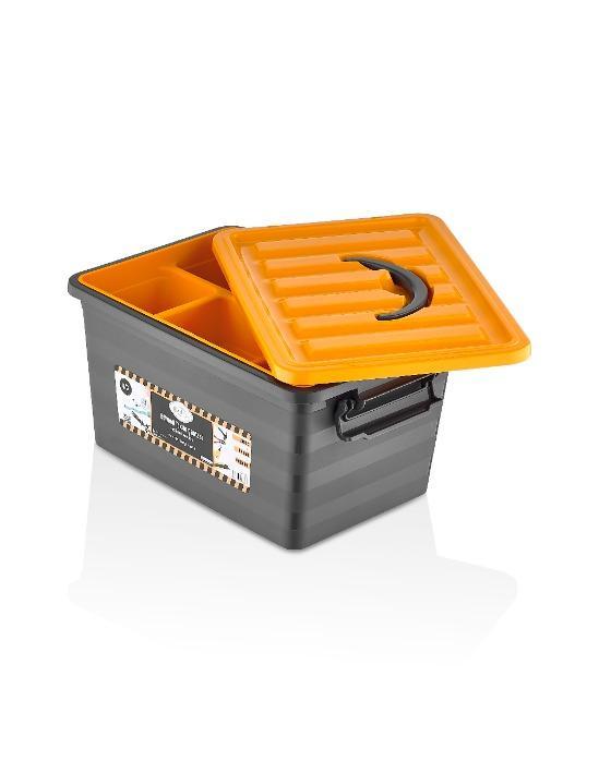 Органайзеры из пластика - Пластмассовый ящик для хранения инструментов
