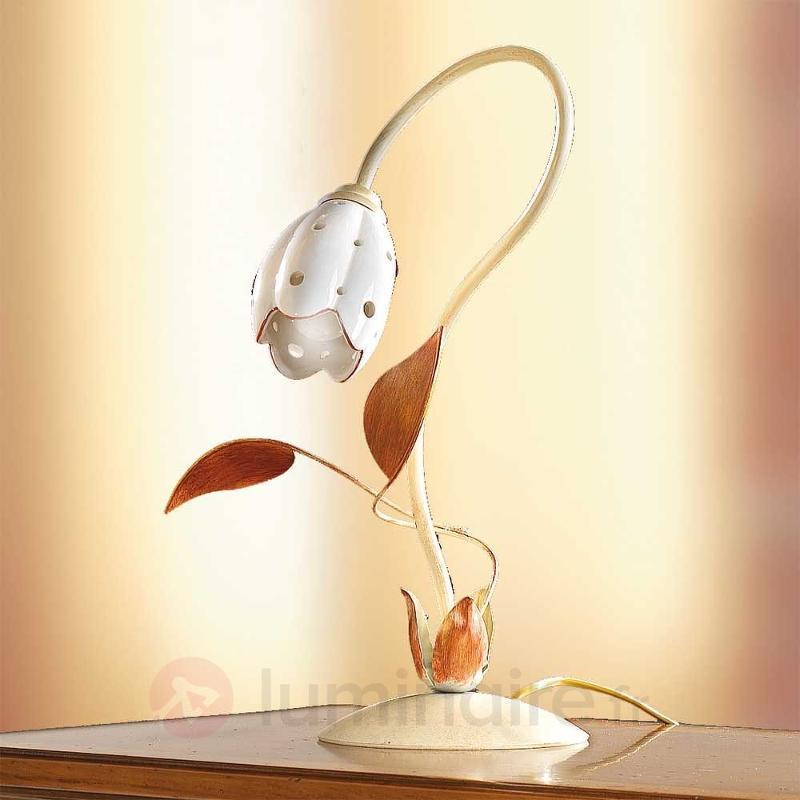 Lampe à poser florale TULIPANO - Lampes à poser style florentin
