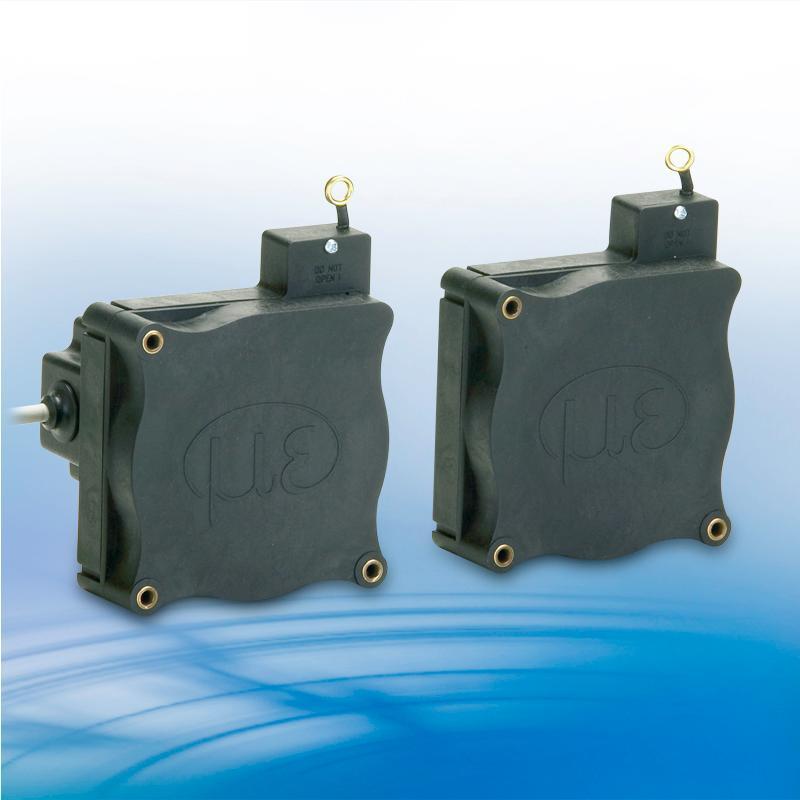 Robust draw-wire sensors - WPS-MK77 analog