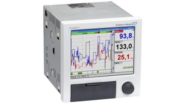 Ecograph T RSG35 Administrador gráfico de datos universal -