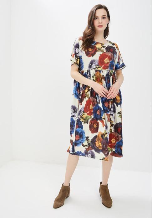 "Women's dress  - Women's dress ""Orphelia""  ( PL 4660-0712 )"