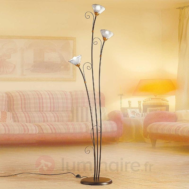 Lampadaire RETINA à 3 lampes - Lampadaires rustiques