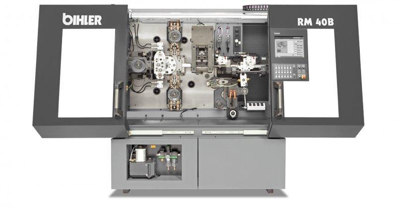 Buchsenmaschine - RM 40B - Standardisiertes Fertigungssystem RM 40B für gerade Buchsen und Flanschbuchsen