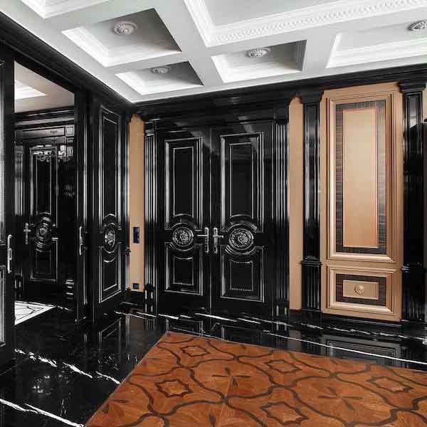 Элитные межкомнатные двери из массива дерева на заказ - Эксклюзивный дизайн, нестандартные размеры, твёрдые породы дерева, ручная работа