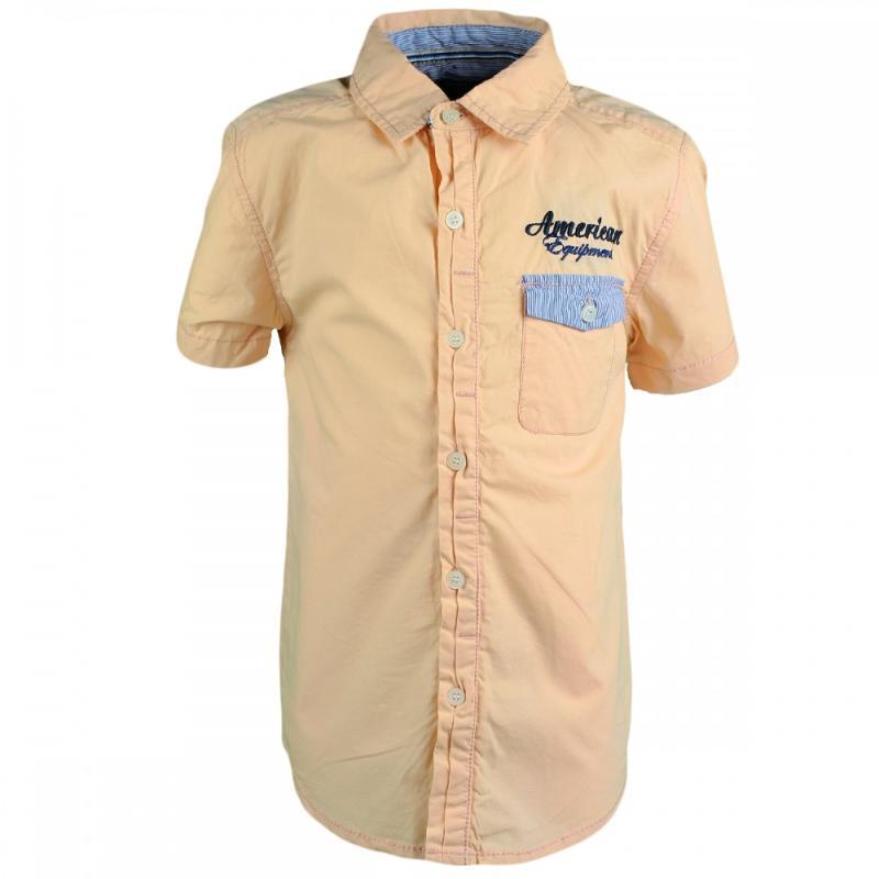 8x Chemises manches courtes Tom Jo du 2 au 5 ans - Chemise