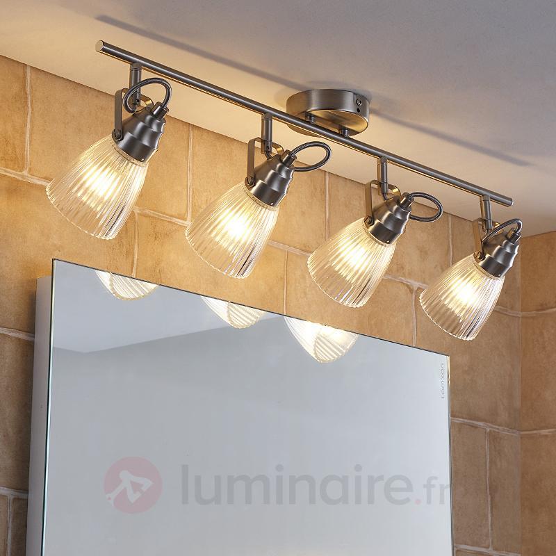 Projecteur de plafond de salle d'eau 4 amp. LED G9 - Salle de bains