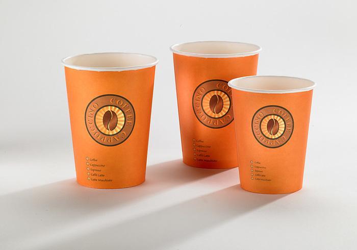 Kaffeebecher aus Pappe - null