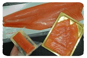 Transformation de saumon