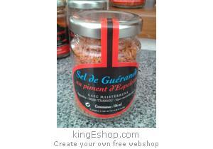 Sel de Guérande au Piment d'Espelette - Référence : 5PEAOPGS