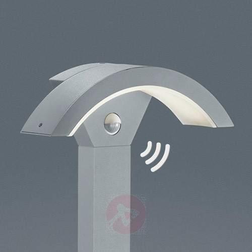 Ohio LED path light with Sensor Titanium - Path Lights with Motion Sensor