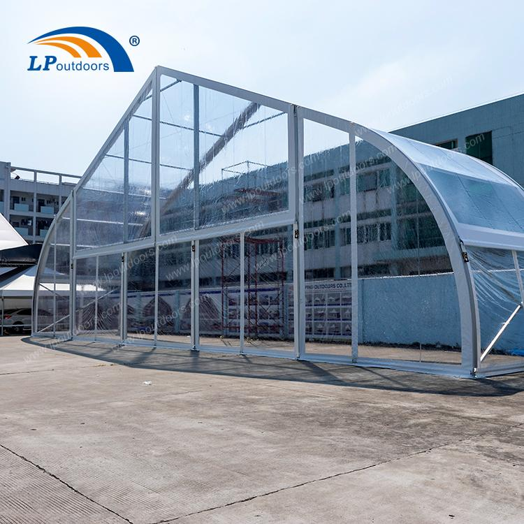 Construcție temporară Cort de depozit industrial - Recipient PVC Construcție temporară Construcție Industrial ă depozit cort