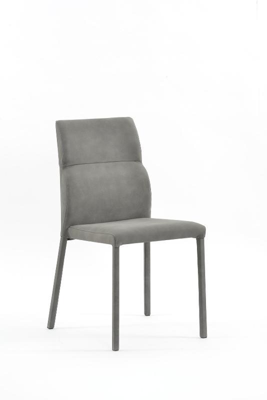 sedia con rivestimento - Arredamento in metallo