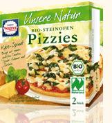 Pizza épinards-fromage - Pizzas biologiques et surgelés