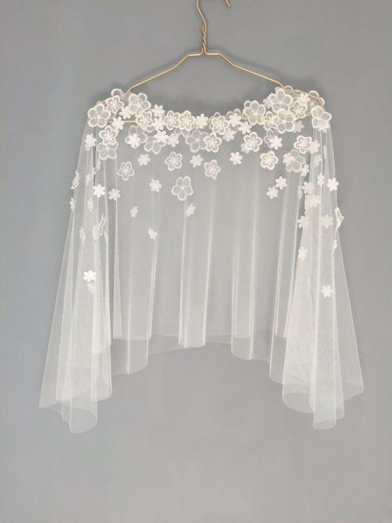 Bridal Embroidered Capes