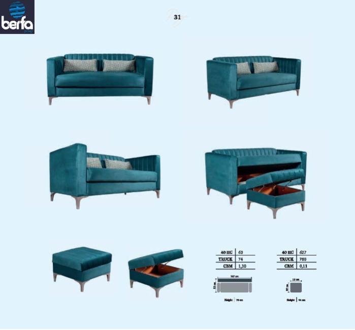Sovekabine sofa Metropol - Søvn sofa producenter