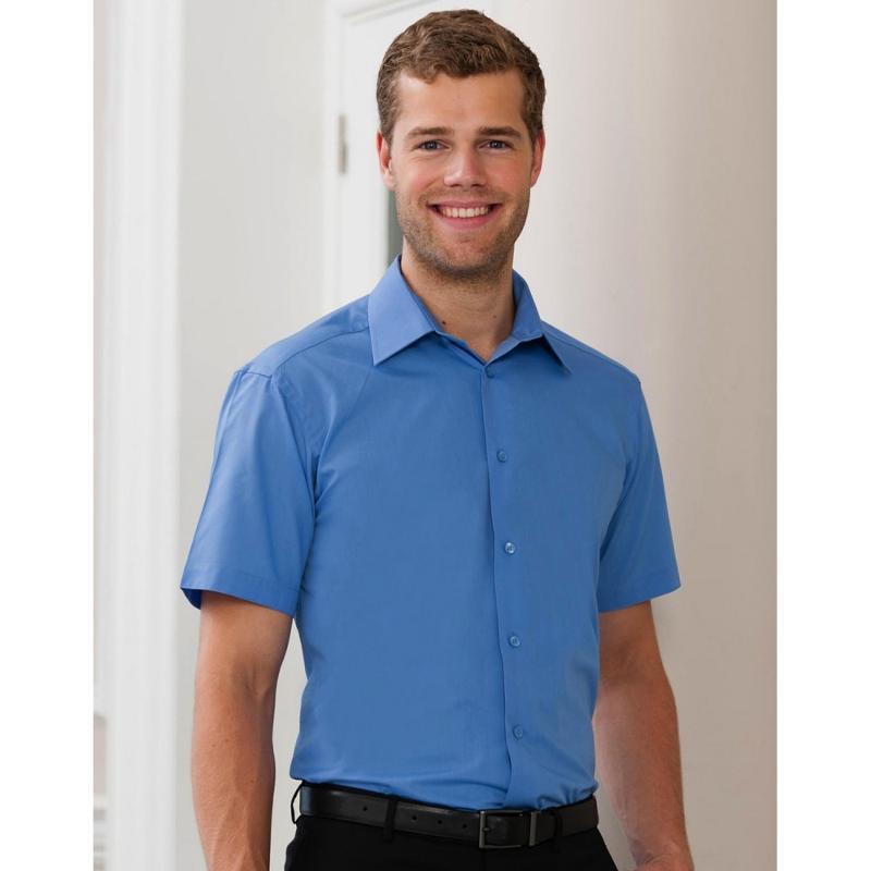 Chemise manches courtes homme S/SL Poplin - Homme