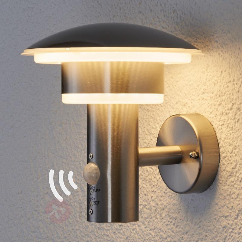 Applique d'extérieur LED Lillie à détecteur IR - Appliques d'extérieur avec détecteur