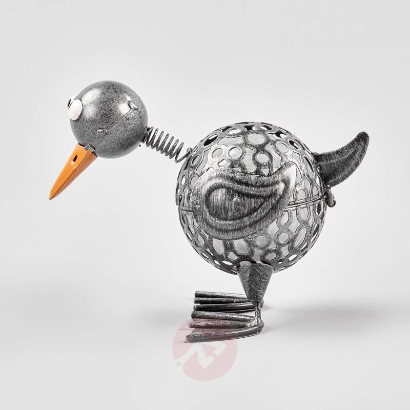 Funny solar light Duck with LED - Decorative Solar Lights