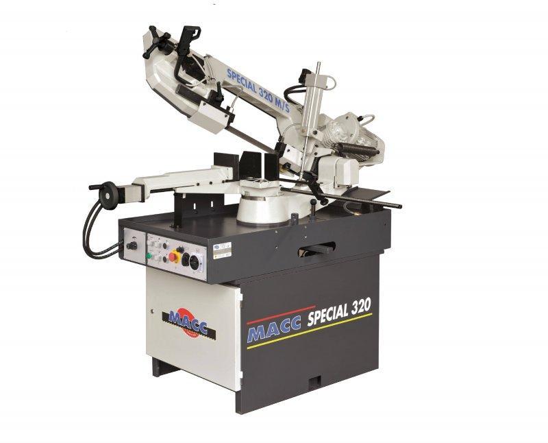 SPECIAL 320 M/S – Metallbandsäge - SPECIAL 320 M/S – Halbautomatische Metallbandsäge