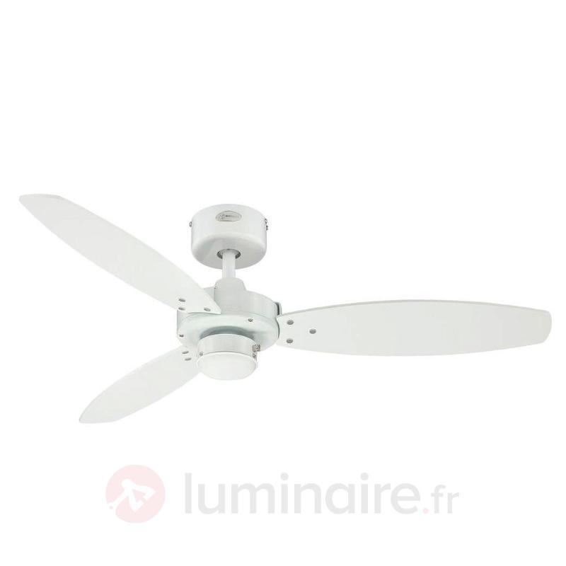 Jet II-ventilateur de plaf. à interrupteur à fil - Ventilateurs de plafond modernes