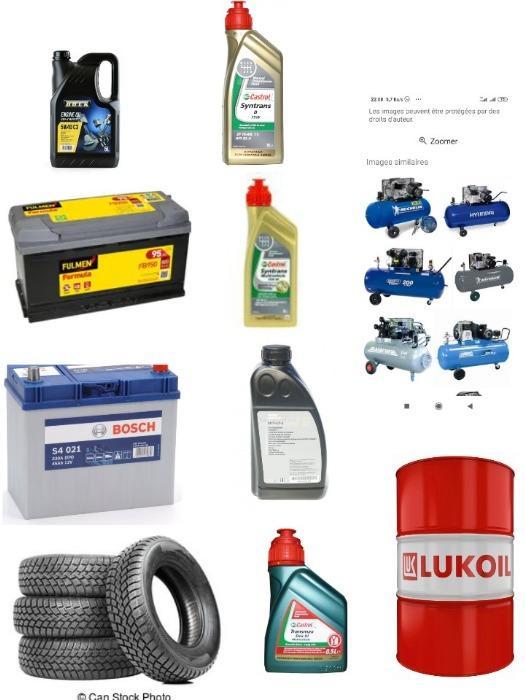 Vente de produits pour automobiles -