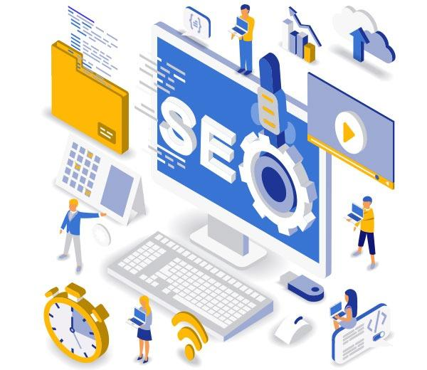 Search engine optimization - SEO is a key part of website optimization for better search engine positioning.