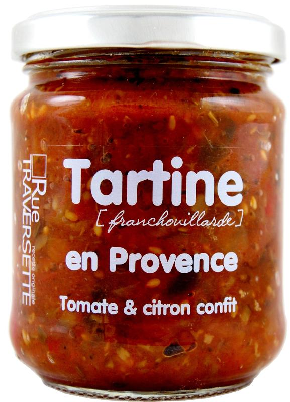 Tartine Franchouillarde en Provence 185g - Epicerie salée