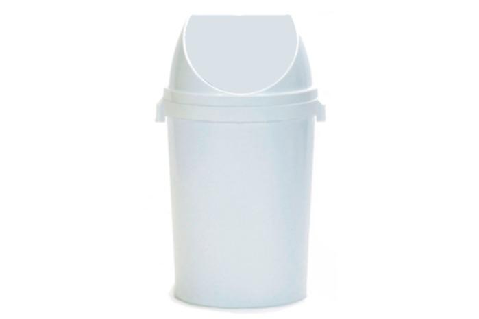 Flip top bin, 40L -