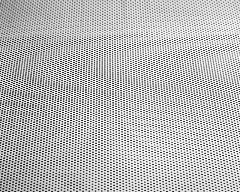 Aluminium perforated sheet - accessories