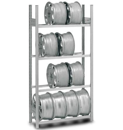 Reifen-/ Felgenregale - einseitig bedienbar
