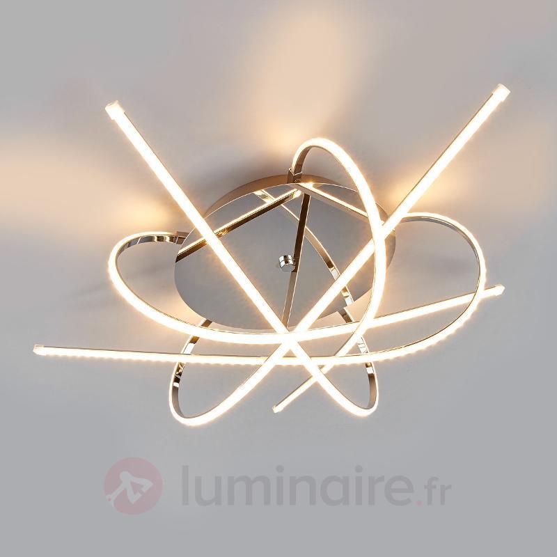 Plafonnier LED Hanne au design individuel - Plafonniers LED