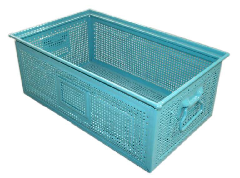 Metal Box Perforated Sheet Metal - For storage & transportation