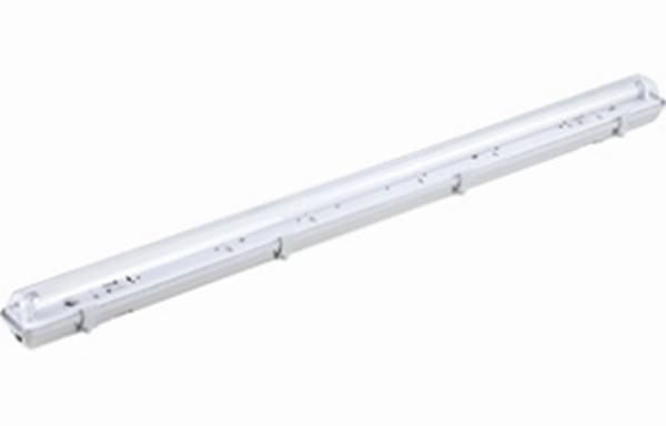 ARMATURE HERMETIQUE 120 CM IP65 + 1 X T8 LED - Intérieur standard