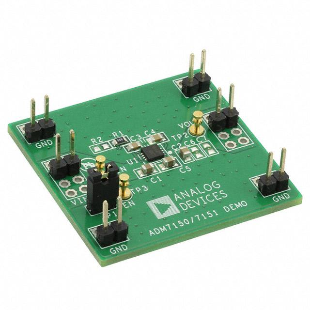 EVAL BOARD LDO REG 800MA ADM7150 - Analog Devices Inc. ADM7150CP-EVALZ