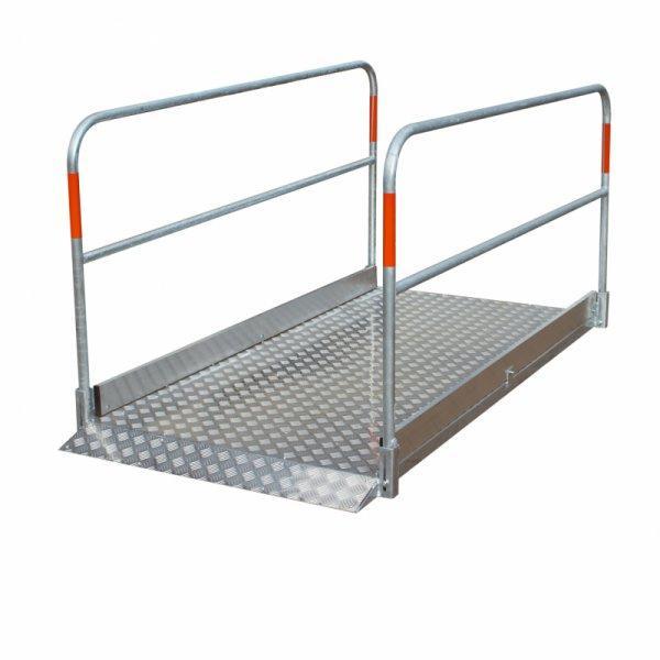 """Grabenbrücke - """"auch in Aluminium erhältlich verschiedene Größen"""""""