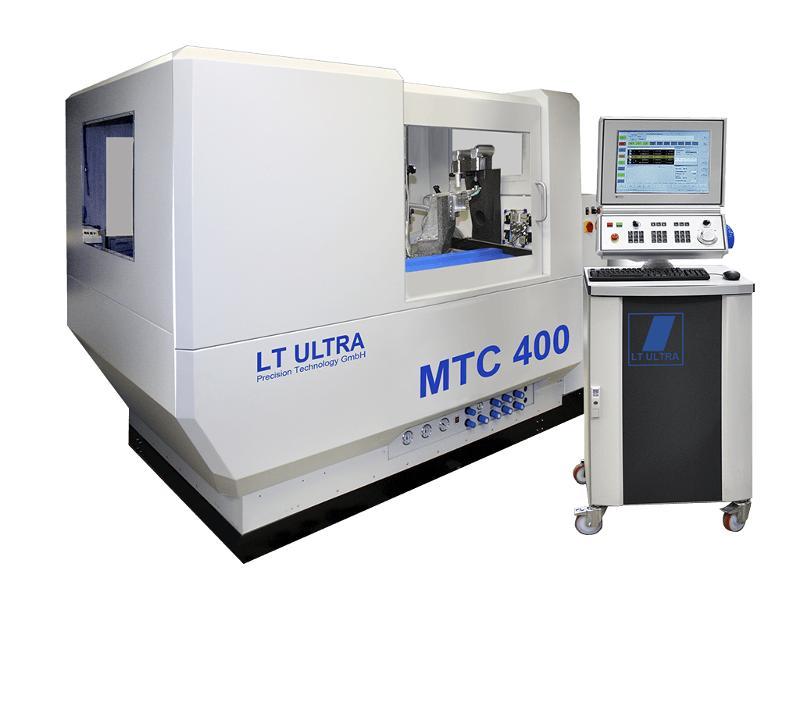 MTC 400 - Ultraprecision turning machine