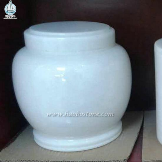 Nature Stone Cemetery Urn For Tombstone Accessories - Urns