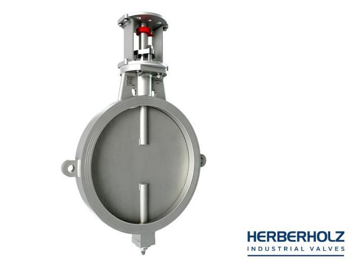 HRD / HRA casted Body - Butterfly valve dumper