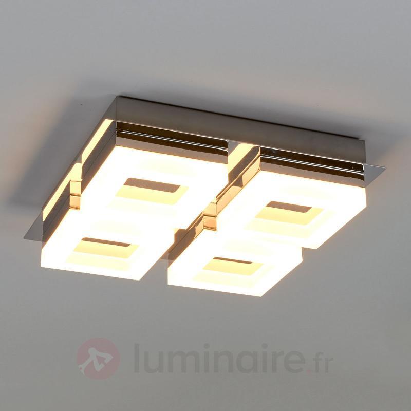 Plafonnier LED de salle de bain à 4 lampes Marija - Salle de bains