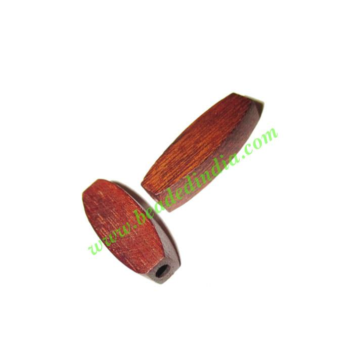 Rosewood Beads, Handcrafted designs, size 5x8x23mm, weight a - Rosewood Beads, Handcrafted designs, size 5x8x23mm, weight approx 1.04 grams