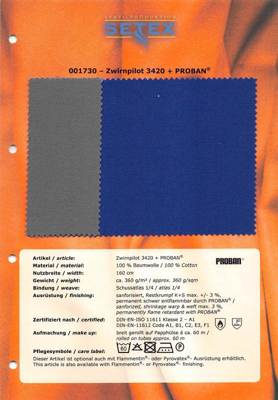 Zwirnpilot 3420 + PROBAN® - Zwirnpilot 3420 + PROBAN®
