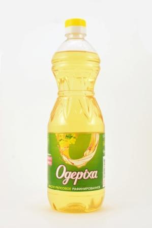 масло рапсовое рафинированное