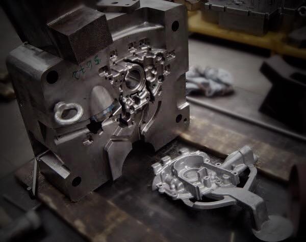 Manufactura de piezas en Inyeccion de aluminio a presión  - Piezas en aluminio aleado