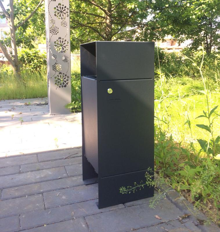 Litter bin «Box» - Litter bin | Trash can